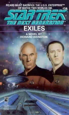 Exiles (Star Trek: The Next Generation, No. 14) (Paperback)