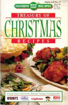 Treasury of Christmas Recipes (Cookbook Paperback)