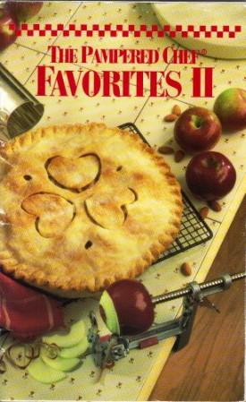 The Pampered Chef Favorites II (Cookbook Paperback)