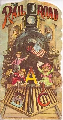 The Railroad ABC (Replica of the Antique Original)