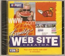 Family Web Site Creator [CD-ROM] [CD-ROM]