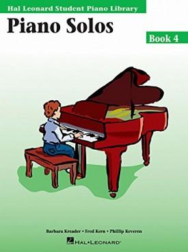 Piano Solos Book 4: Hal Leonard Student Piano Library (Paperback)