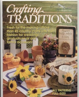 Crafting Traditions Magazine May/June Back Issue 1997
