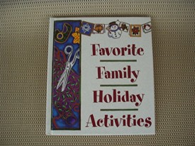 Favorite Family Holiday Activities (Hardcover)