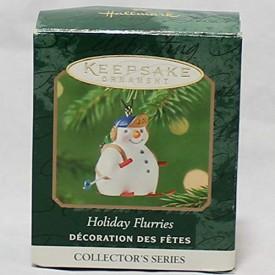 Hallmark Keepsake Ornament Holiday Fluries 2001 QXM5272