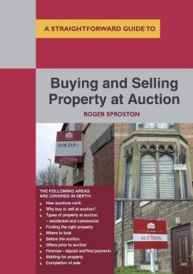 Buying And Selling Property At Auction Sproston, Roger