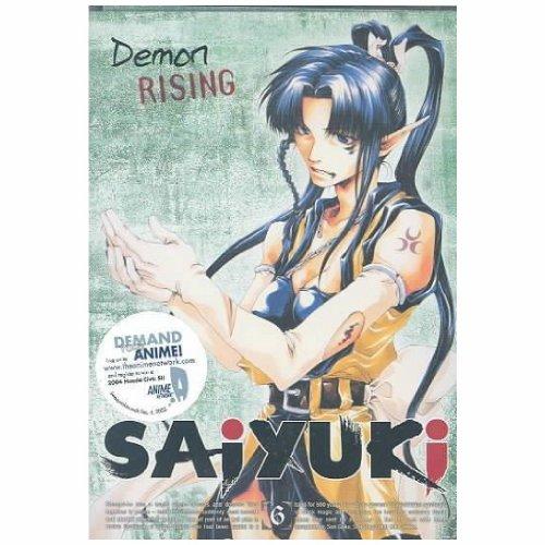 SAIYUKI-6-DEMON RISING (DVD/ENG-BOTH)-NLA