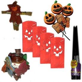 Halloween Decor & Treats Party Pack [5 Piece]
