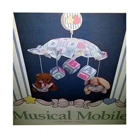 1993 Judis Calico & Bows Musical Mobile [Baby Product]