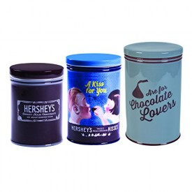 Hershey's Remember Your First Canisters, Set of 3