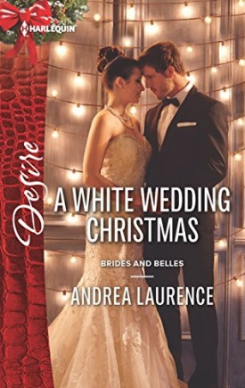 A White Wedding Christmas (Brides and Belles) (Mass Market Paperback)