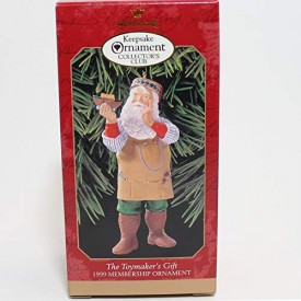 The Toymakers Gift 1999 Hallmark Keepsake Ornament QXC4519