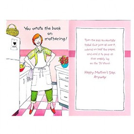 Mothers Day Greeting Card Funny [Office Product]