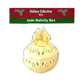Holiday Collections Gifts Jade Nativity Box