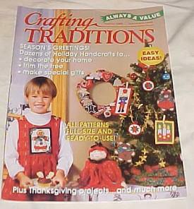 Crafting Traditions Magazine Nov/Dec Back Issue 1998