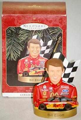 1999 Hallmark Bill Elliott Keepsake Ornament NASCAR Stock Car Champions Collectors Series