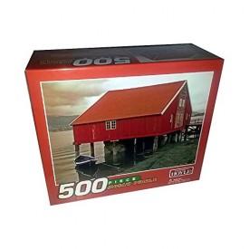 Hoyle Boathouse 500 Piece Jigsaw Puzzle (2005) [Toy]