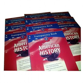 McDougal Littell Middle School American History: Transparency Book Units 1-10...