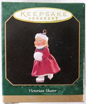 Hallmark Keepsake Minatare Ornament Victorian Skater (1997) QXM4305