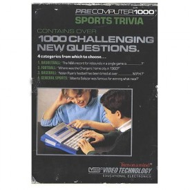Sports Trivia Game Cartridge for Vtech PreComputer 1000 #80-1003 [Toy]