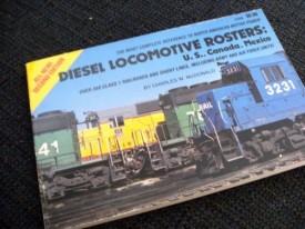 Diesel locomotive rosters: U.S., Canada, Mexico (Paperback)