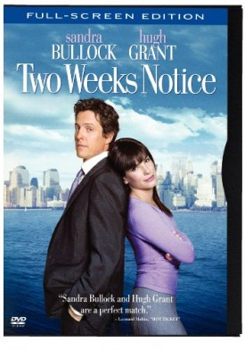 Two Weeks Notice (Full-Screen Edition) (Snap Case) (DVD)