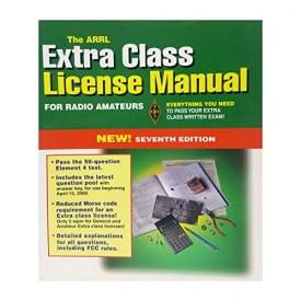 The Arrl Extra Class License Manual (Arrl Extra Class License Manual for the Radio Amateur, 7th ed) (Paperback)