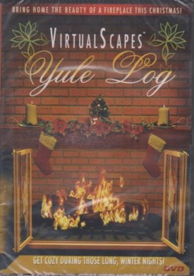 Visual Scapes Yule Log Silver Screen DVD Greetings (DVD)