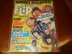 Flip Teen Magazine Donny Osmond, David Cassidy, Jackson Five June 1974 Vol. 9 No. 6 (Collectible Single Back Issue Magazine)