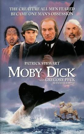 Moby Dick [VHS] [VHS Tape] (1998) Henry Thomas; Patrick Stewart; Bruce Spence...