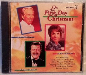 On The First Day of Christmas - Volume 3 [Audio CD] Robert Goulet, Julie Andr...