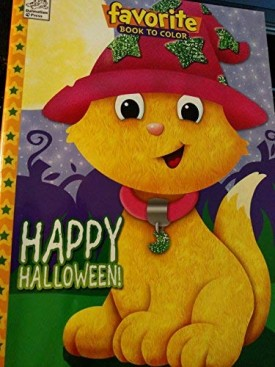 Happy Halloween Favorite Book to Color with Tear & Share Pages (Paperback)