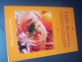 Light Desserts (Cookbook Paperback)