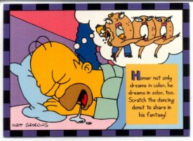 Simpsons Skybox Trading Card Smell-O-Rama #3 [Toy]