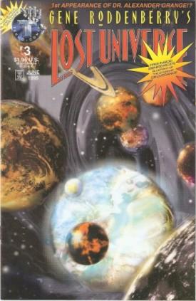 Gene Roddenberrys Lost Universe #3 Vol. 1 June 1995