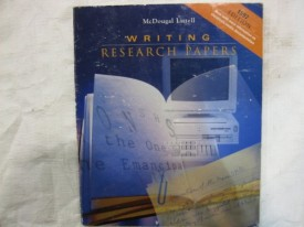 Writing Research Papers 1997 Edition (Paperback)