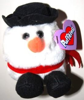 Puffkins Bean Bag Plush - Flurry the Snowman