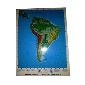 Rand Mcnally South America 2-Sided Laminated Map 17 x 22 (Pack Of 5)
