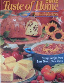 2002 Taste of Home Annual Recipes (Hardcover)