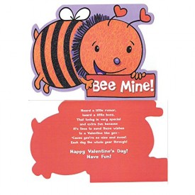 Valentines Day Greeting Card - Bee Mine! [Office Product]