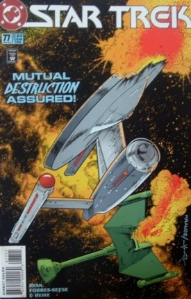Star Trek #77 Comics November 1995