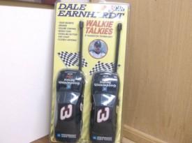 NASCAR Dale Earnhardt Walkie Talkies 6 Transistor Technology