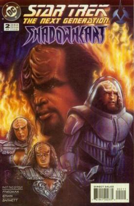 Star Trek The Next Generation Shadowheart #2 Comics – January, 1995