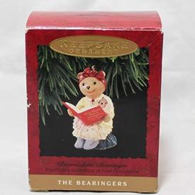 Hallmark Keepsake Ornament – Bearnadette Bearinger 1993 – Fourth in Series of Bearingers (XPR9748)
