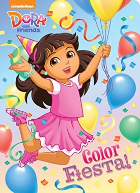 Color Fiesta! (Dora and Friends) (Hardcover)