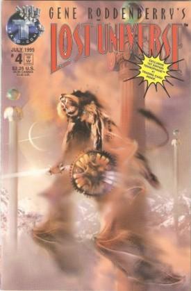 Gene Roddenberrys Lost Universe #4 (Variant Cover) Vol. 1 July 1995