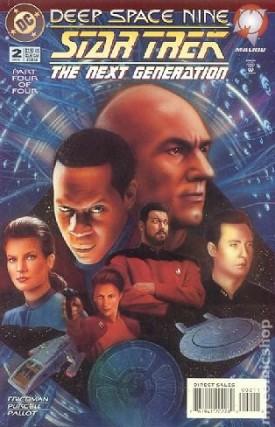 Star Trek The Next Generation Deep Space Nine #2 DC Comics Jan 1995