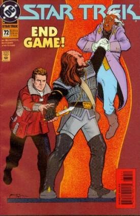 Star Trek #72 Comics June 1995