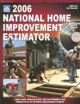 National Home Improvement Estimator with CDROM (National Home Improvement Estimator (W/CD)) (Paperback)