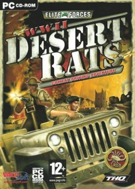 Elite Forces WWII Desert Rats by THQ [Windows 2000]